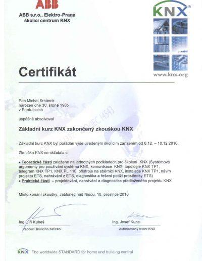 Základní kurz KNX