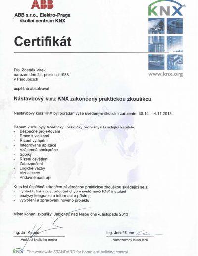 Nástavbový kurz KNX